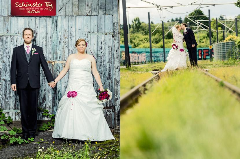 Hochzeit von Anke & Daniel in Frankfurt am Main & Karben