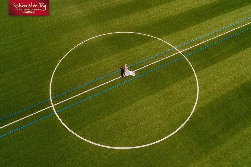 Hochzeitsfotos mit der Drohne
